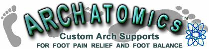Orthotics by Archatomics - Custom Arch Supports - Foot Pain Relief - Foot Balance